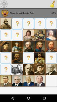 The rulers of Russia (Quiz) poster