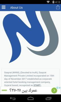 CTS - Saayrat Corporate Tariff screenshot 3