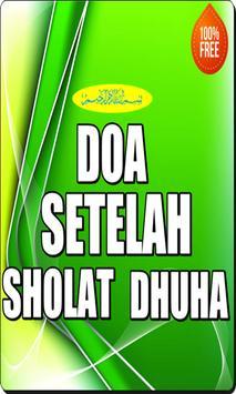 Doa Setelah Sholat Dhuha poster