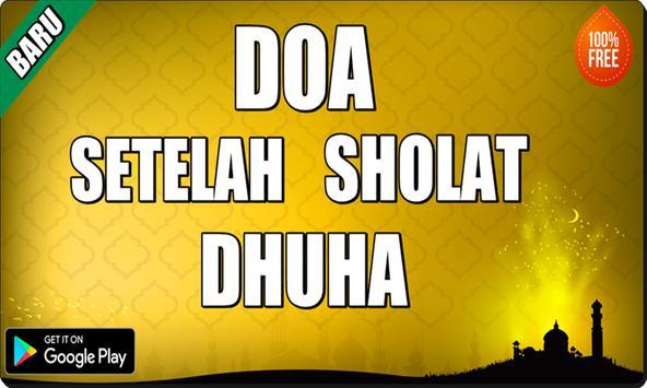 Doa Setelah Sholat Dhuha apk screenshot