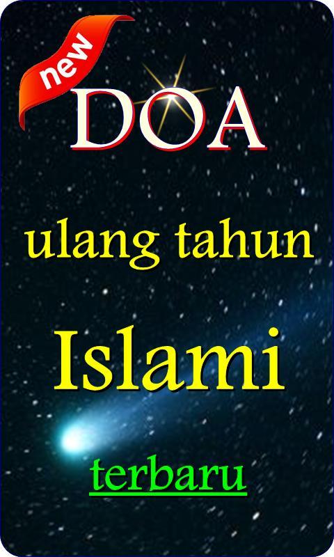 Doa Ulang Tahun Dalam Islam Para Android Apk Baixar