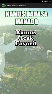 Kamus Bahasa Manado poster