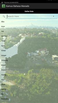 Kamus Bahasa Manado screenshot 1