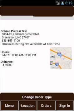 Dobros Pizza & Grill apk screenshot
