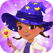 Magic spellbook little doctor icon