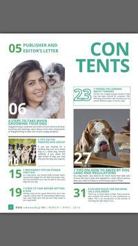 Dog Ownership 101 Magazine poster