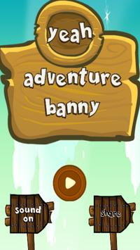 Yeah Adventure Banny poster