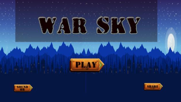 War Of The Sky HD poster