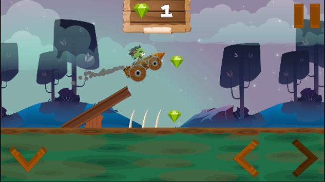 Orc Magic Car screenshot 1