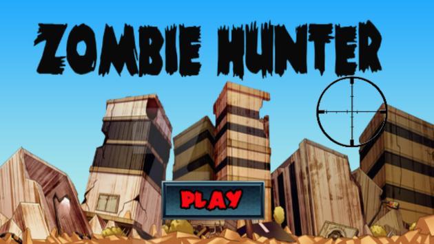 Zumbie Hunter poster