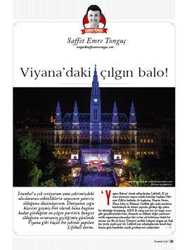 İstanbul Life Dergisi capture d'écran 5