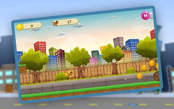 Puppy Dog Run Game apk screenshot