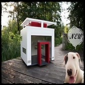 Dog House Design New icon