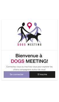 Dogs Meeting poster