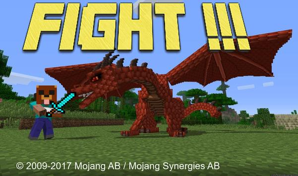 MORE DRAGONS MOD MCPE poster