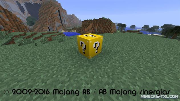 Mod Lucky Blocks minecraft pe poster