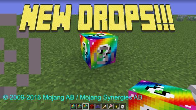 Lucky Blocks MOD MCPE apk screenshot