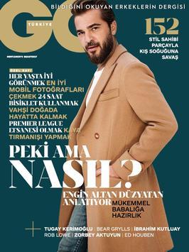 GQ Türkiye poster