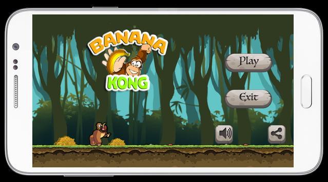 Banana Kong Adventure screenshot 1
