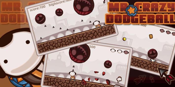Mr. Crazy DodgeBall poster
