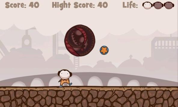 Mr. Crazy DodgeBall apk screenshot