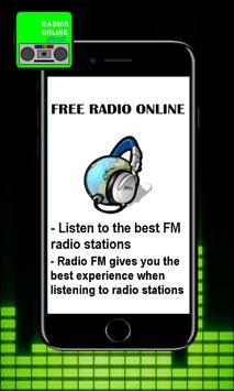 FM radio stations Syria Free poster
