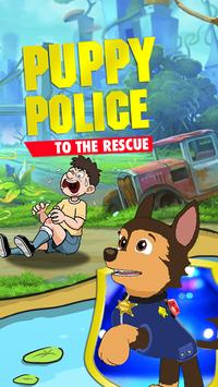 A puppy Police to the rescue! poster