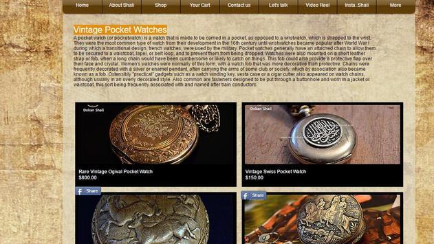 Dokanshali vintage &antiques screenshot 14
