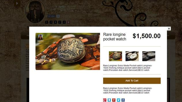 Dokanshali vintage &antiques screenshot 26