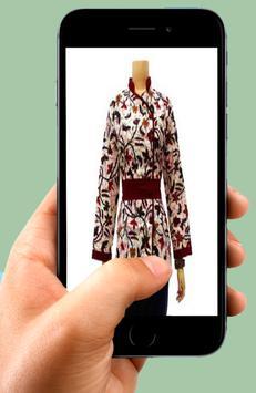 Batik shirt design office lady apk screenshot