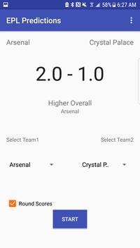 Predictions For Premier League screenshot 1