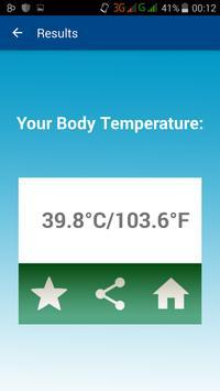 doigt Body Temperature Prank apk screenshot