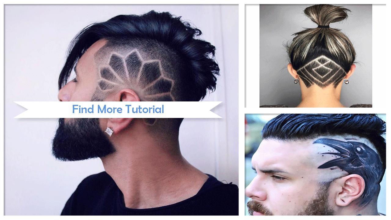 23+ Tato Rambut Simpel Keren - Contoh Gambar Tato