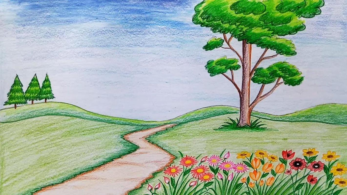 Easy Way Draw Scenery For Android Apk Download
