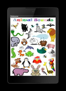 Animals sounds for children apk screenshot