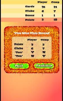 Pishpirik card game apk screenshot