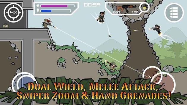 Doodle Army 3 : Mini Militia screenshot 2