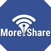 More Share icon