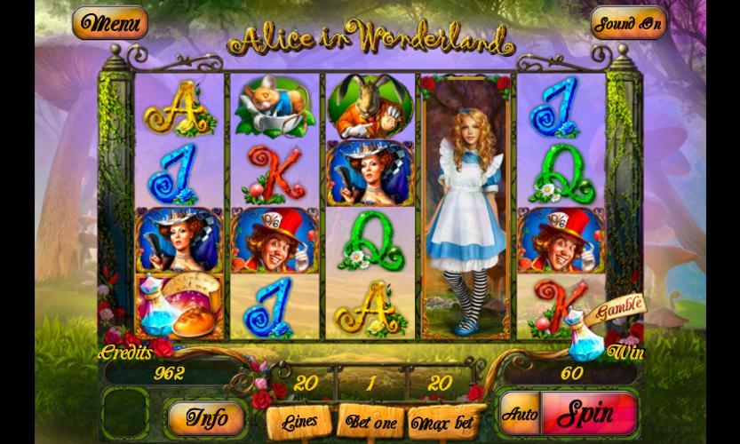 Alice In Wonderland Slot for Android - APK Download
