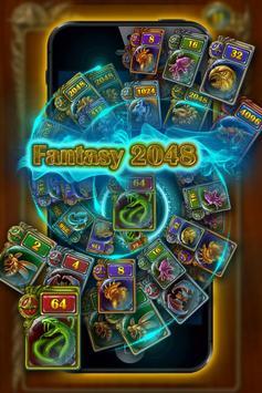 Fantasy 2048 poster