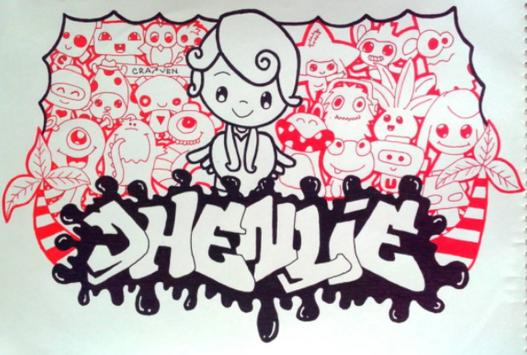 Doodle Art Name screenshot 2
