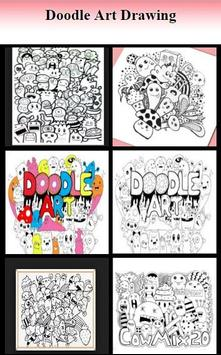 Doodle Art Drawing poster