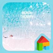 Beach therapy 도돌런처 테마 icon