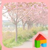 Blossome Road 도돌런처 테마 icon