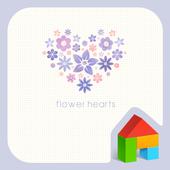 flower hearts 도돌런처 테마 icon