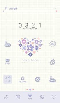 flower hearts 도돌런처 테마 poster