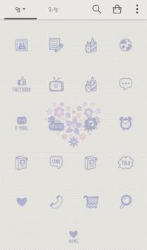flower hearts 도돌런처 테마 screenshot 2