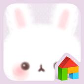 Fluffy Bunny 도돌런처 테마 icon