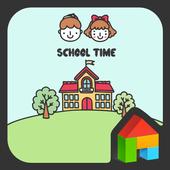 school time 도돌런처 테마 icon