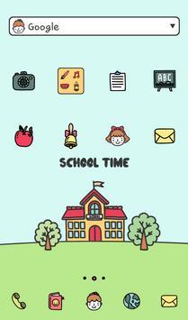 school time 도돌런처 테마 poster